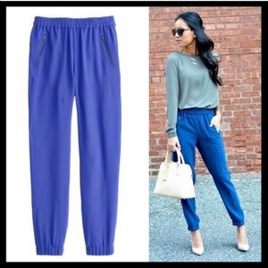 J. Crew Turner Blue Crop Jogger Pant Royal 2